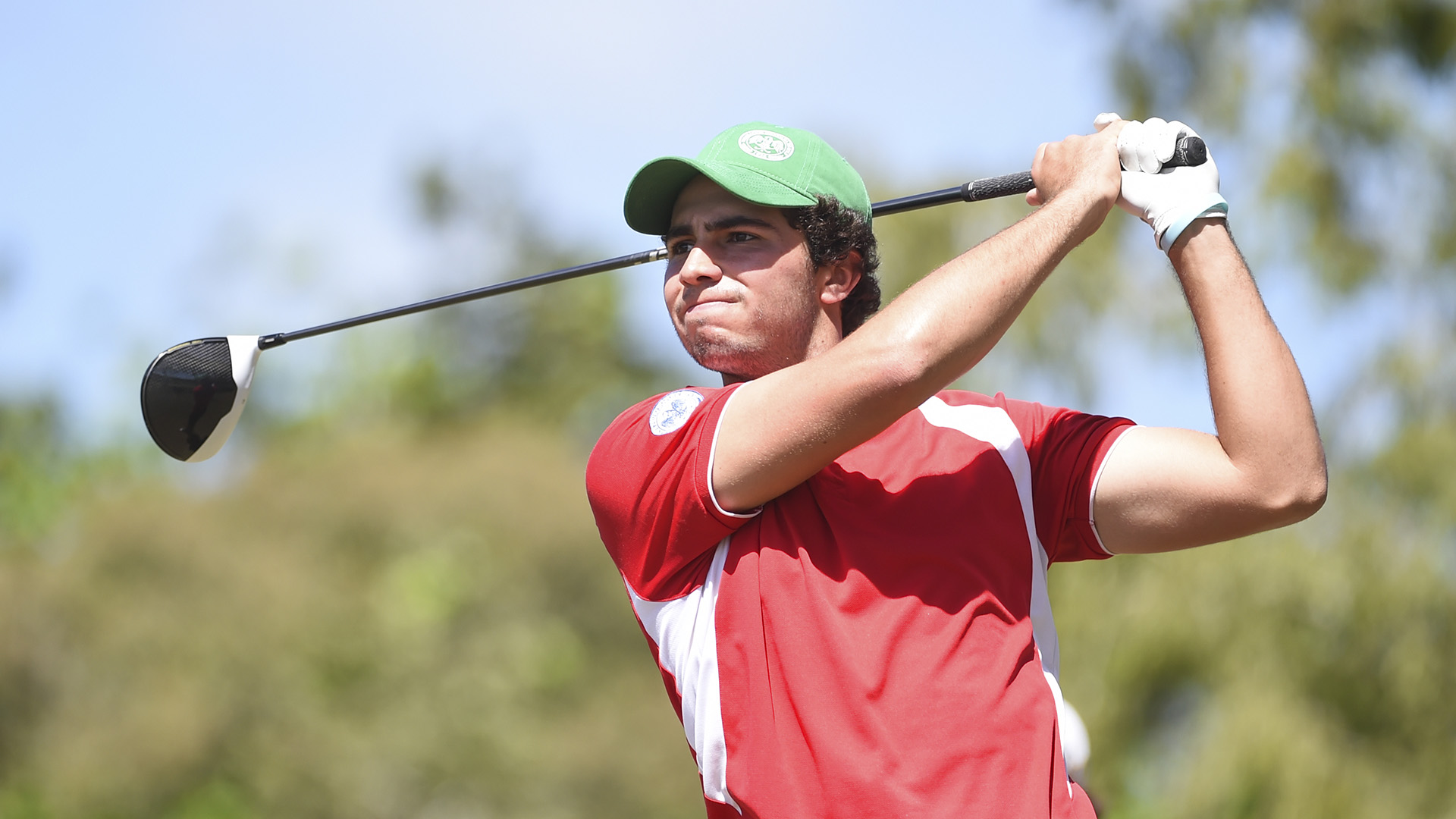 Panama City, Panama:Alvaro Ortiz of Mexico pictured at the 2017 Latin America Amateur Championship at the Club de Golf de Panama during Round Three on January 14th . (Photo by Enrique Berardi/LAAC)
