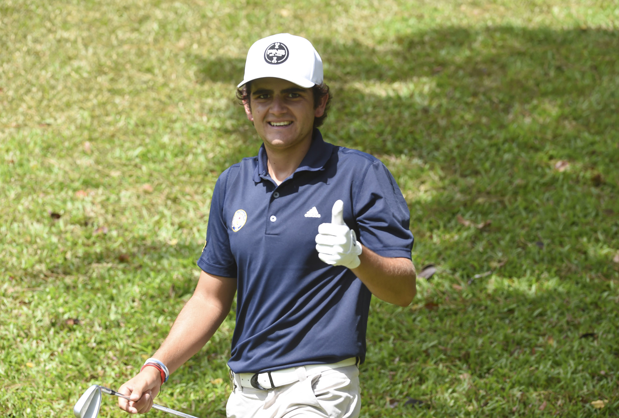 Panama City, Panama:Tomas Gana of Chile pictured at the 2017 Latin America Amateur Championship at the Club de Golf de Panama during Round two on January 13th . (Photo by Enrique Berardi/LAAC)