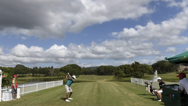 Panama City, Panama: Pictured at the 2017 Latin America Amateur Championship at the Club de Golf de Panama during Round two on January 13th . (Photo by Enrique Berardi/LAAC)