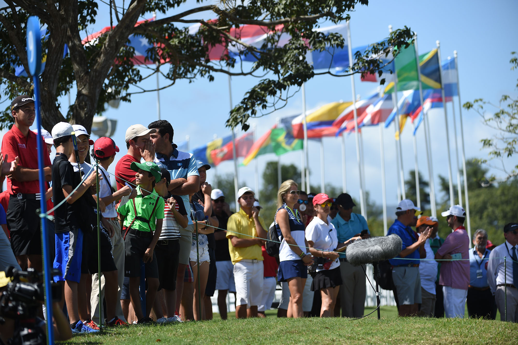 Panama City, Panama:pictured at the 2017 Latin America Amateur Championship at the Club de Golf de Panama during Round Four on January 15th . (Photo by Enrique Berardi/LAAC)