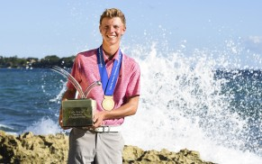 Paul Chaplet, Champion of the 2016 Latin America Amateur Championship at Casa de Campo. Sunday January 17th, 2016. Enrique Berardi/LAAC.