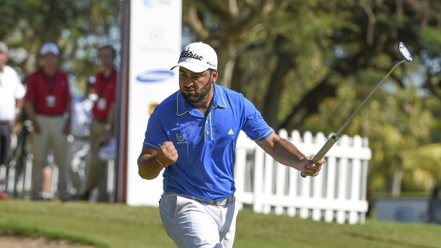 Gaston Bertinotti of Argentina during the third round of the 2016 Latin America Amateur Championship at CASA DE CAMPO on Saturday January 16th, 2016. Enrique Berardi/LAAC.